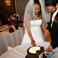 Cakes, brown, cake, Cutting, The, Grooms