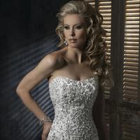 Wedding Dresses, Fashion, white, dress, Maggie Sottero, Lucinda