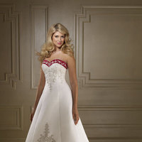 Ceremony, Flowers & Decor, Wedding Dresses, Fashion, white, red, dress