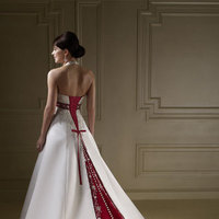 Beauty, Ceremony, Reception, Flowers & Decor, Wedding Dresses, Fashion, white, red, dress, Hair