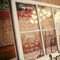 Reception, Flowers & Decor, white, Vintage, Rustic, Rustic Wedding Flowers & Decor, Window, Country, Seating, Chart