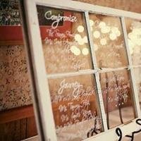 Reception, Flowers & Decor, white, Vintage, Rustic, Rustic Wedding Flowers & Decor, Window, Seating, Chart