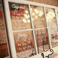 Reception, Flowers & Decor, white, Vintage, Rustic, Rustic Wedding Flowers & Decor, Window, Seating, Chart, Beyondwhite