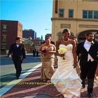 Bridesmaids, Bridesmaids Dresses, Fashion, red, purple, gold