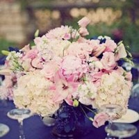 Reception, Flowers & Decor, white, pink, Flowers