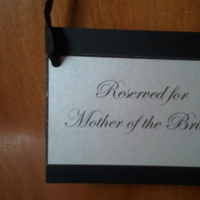 Ceremony, Flowers & Decor, black, silver, Pew, My, Signs, Mahoganieyes
