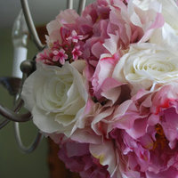 Flowers & Decor, pink, Bride Bouquets, Flowers, Bouquet, Wedding, Bridal, Florist, Silk