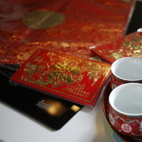 Ceremony, Flowers & Decor, red, Chinese, Tea