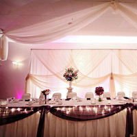 Reception, Flowers & Decor, purple, Table, Head, Backdrop