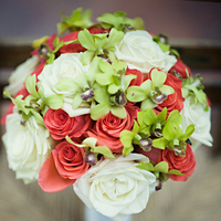 green, Lime, Bouquet, Coral, Ria john