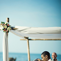 Ceremony, Flowers & Decor, Beach, Beach Wedding Flowers & Decor, Ria john