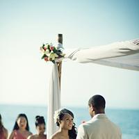 Ceremony, Flowers & Decor, Beach, Beach Wedding Flowers & Decor, Ria john