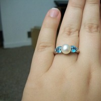 Jewelry, Engagement Rings, Ring, Pearl