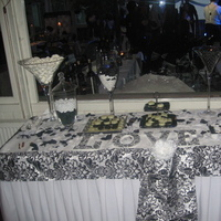 Reception, Flowers & Decor, white, black, Candy, Buffet, Inspiration board