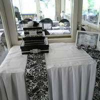 Reception, Flowers & Decor, white, black, Inspiration board