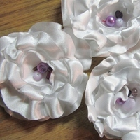 Beauty, Flowers & Decor, Bridesmaids, Bridesmaids Dresses, Fashion, white, pink, purple, Bridesmaid Bouquets, Flowers, Hair, Flower Wedding Dresses