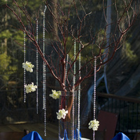 Reception, Flowers & Decor, blue, Centerpieces, Flowers, Centerpiece, Table, Inspiration board, Tahoe, Setting