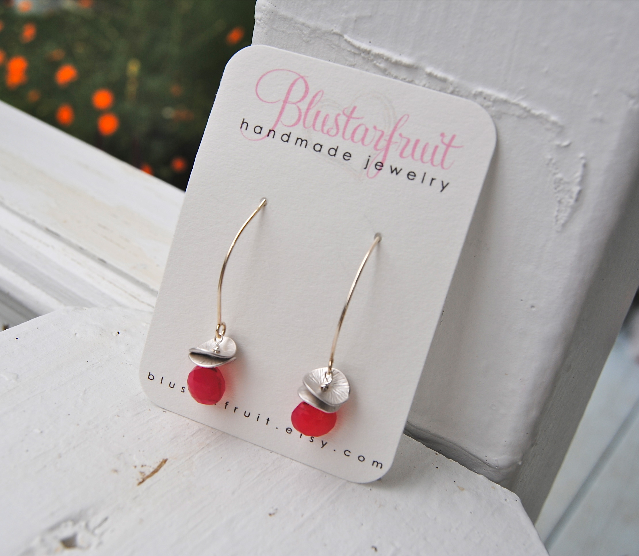 Jewelry, pink, silver, Earrings, Bridesmaid, Blustarfruit
