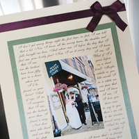 Ceremony, Reception, Flowers & Decor, Bridesmaids, Bridesmaids Dresses, Fashion, white, purple, green, Gift, Inspiration board, Shower, Frame, Parent