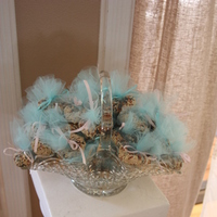 Reception, Flowers & Decor, pink, blue