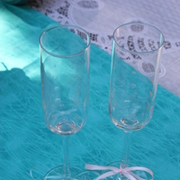 Registry, pink, blue, Drinkware, Glasses, Flute