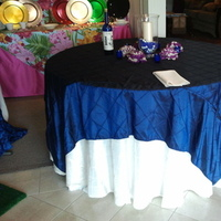 Reception, Flowers & Decor, purple, blue