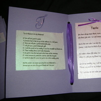 Bridesmaids, Bridesmaids Dresses, Stationery, Fashion, white, purple, black, silver, Invitations