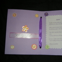 Stationery, purple, black, silver, Invitations