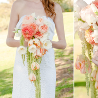 Flowers & Decor, orange, Bride Bouquets, Flowers, Bouquet, Peach