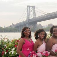 Ceremony, Flowers & Decor, Bridesmaids, Bridesmaids Dresses, Fashion, pink