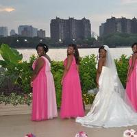 Ceremony, Reception, Flowers & Decor, Bridesmaids, Bridesmaids Dresses, Wedding Dresses, Fashion, pink, dress