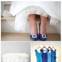 blue, Inspiration board