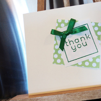 green, Thank You Notes, Card, You, Thank, Inspiration board