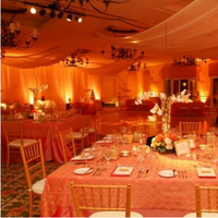 Reception, Flowers & Decor, gold, Lighting