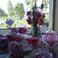 Reception, Flowers & Decor, Favors & Gifts, Cakes, white, pink, green, brown, black, silver, cake, Favors, Flowers, Inspiration board