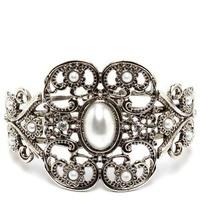 Jewelry, silver, Bracelets, Vintage, Bracelet, Pearl, Inspired