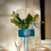 Ceremony, Reception, Flowers & Decor, white, pink, blue, green, silver, Ceremony Flowers, Flowers
