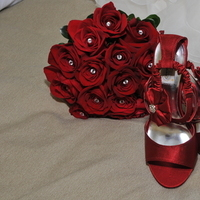 Flowers & Decor, Shoes, Fashion, red, Flowers, Flower Wedding Dresses