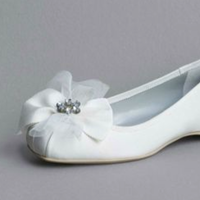 Flowers & Decor, Shoes, Fashion, white, Flower, Girl, Vera, Wang