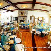 Reception, Flowers & Decor, blue, green, Inspiration board