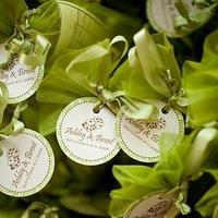 Reception, Flowers & Decor, Favors & Gifts, white, green, Favors