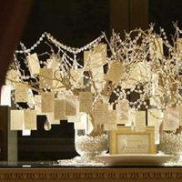 Reception, Flowers & Decor, white, Tree, Wishing