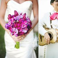 Reception, Flowers & Decor, pink, purple, Flowers, Chicago