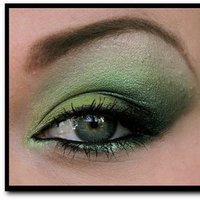 Beauty, green, Makeup, Inspiration board
