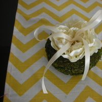 Ceremony, Flowers & Decor, white, green, Rustic, Rustic Wedding Flowers & Decor, Ring, Pillow, Bearer, Inspiration board, Moss