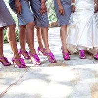 Bridesmaids, Bridesmaids Dresses, Shoes, Fashion, pink