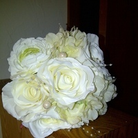 Flowers & Decor, Bridesmaids, Bridesmaids Dresses, Fashion, white, Bridesmaid Bouquets, Flowers, Flower Wedding Dresses