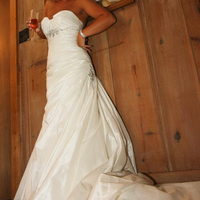Wedding Dresses, Fashion, white, dress, Front