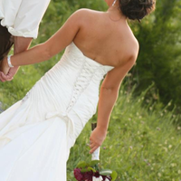 Wedding Dresses, Fashion, white, dress, Back, The