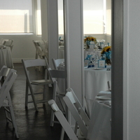 Reception, Flowers & Decor, white, yellow, blue, gold, Beach, Beach Wedding Flowers & Decor, Wedding, Table